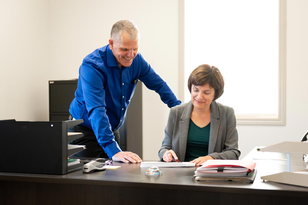 Jocelyn Lavoie and Chantal Corbin, heads of PM Precision