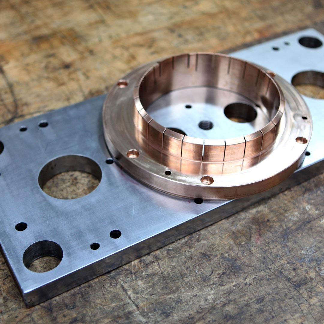 Pièces métalliques usinées par usinage de précision